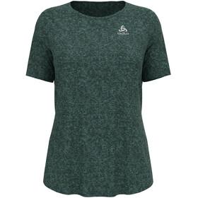 Odlo Run Easy 365 T-Shirt S/S Crew Neck Women, Azul petróleo